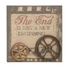 the end is just a new beginning